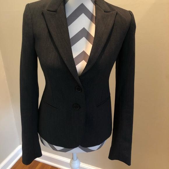 Theory Jackets & Blazers - Theory Charcoal Gray Blazer